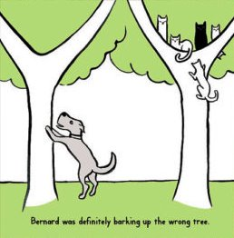 barking-up-the-wrong