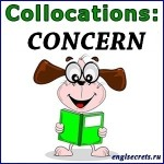 collocations-CONCERN