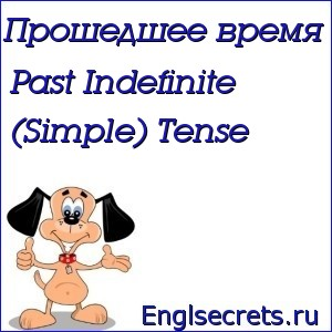 Past Indefinite (Simple) Tense