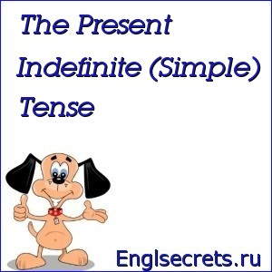 The Present Indefinite (Simple) Tense