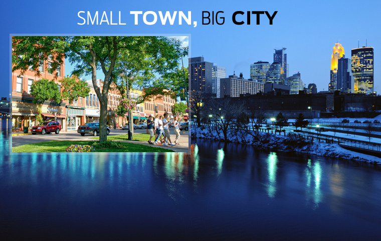 town-city