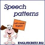 Speech patterns