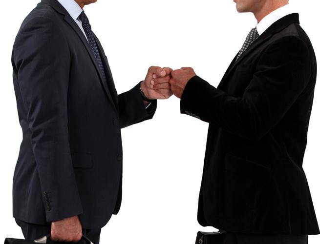 business-fist-bump