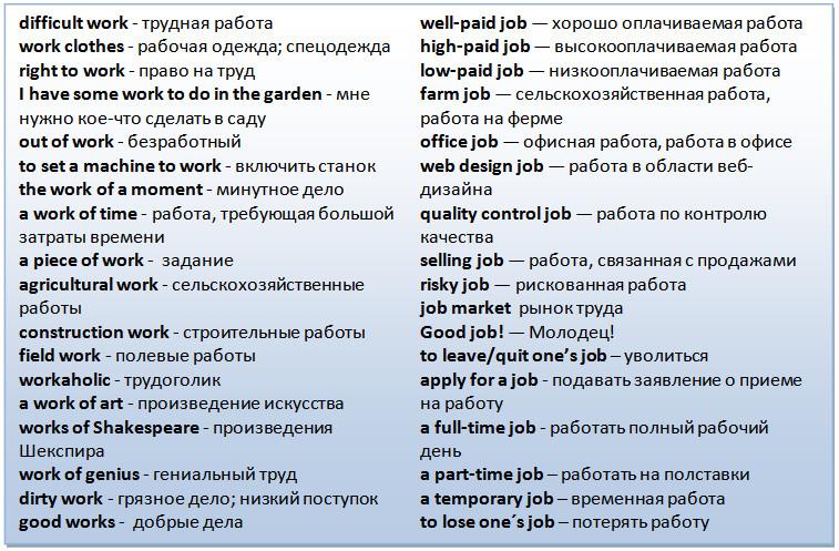work-job