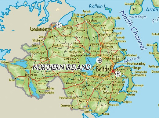 Northern-Ireland-map