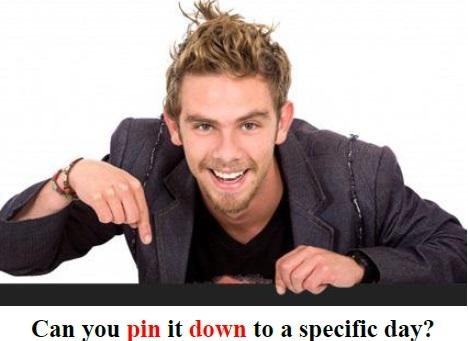 pin-down