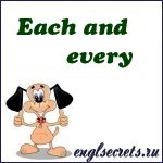 each-every